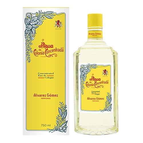 Alvarez Gomez Agua de Colonia Concentrada, Floral, 750 Mililitros