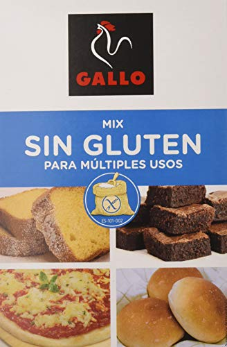 Gallo - Mix para multiples usos - Sin gluten - 500 g - [Pack de 9]
