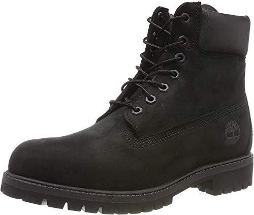 Timberland 6-Inch Premium Boot, Botas para Hombre, Negro (Black Nubuck), 45 EU