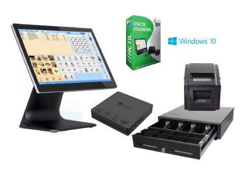 TPV táctil Completo + cajón + Impresora 80mm + Software Itactil
