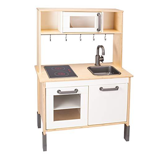DUKTIG - Cocina de madera para niños a partir de 3 años, 72 x 40 x 109 cm