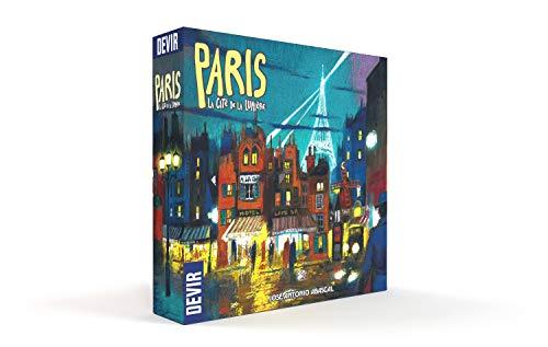 Devir- Paris: La Cité de la Lumière, Multicolor (BGPARSP)
