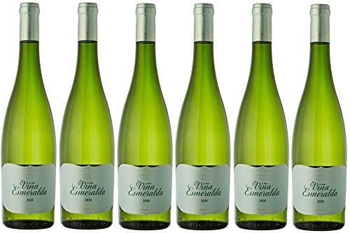 Viña Esmeralda, Vino Blanco - 6 botellas de 75 cl, Total: 4500 ml