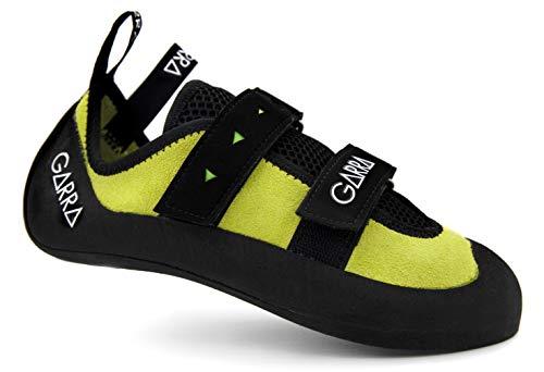 Pies de Gato Kame Combinan adherencia y Durabilidad. Zapatillas Escalada (Verde, 37EU, 219mm)