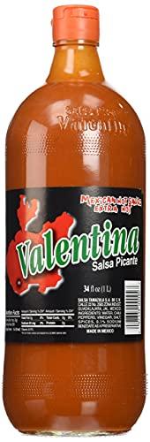 Valentina Salsa Picante Mexican Sauce, Extra Hot - 1 L