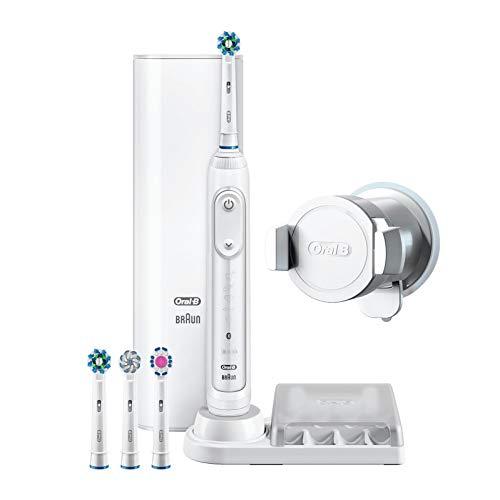 Oral-B Genius 9000N Cepillo de Dientes Eléctrico Tecnología Braun, Blanco