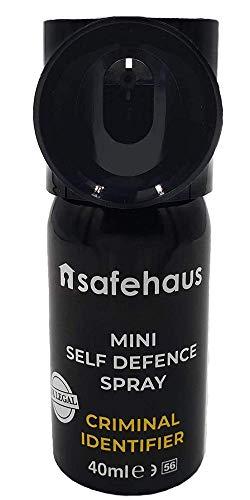 SAFEHAUS PAL035 Spray Defensa, Negro, 1 Pack