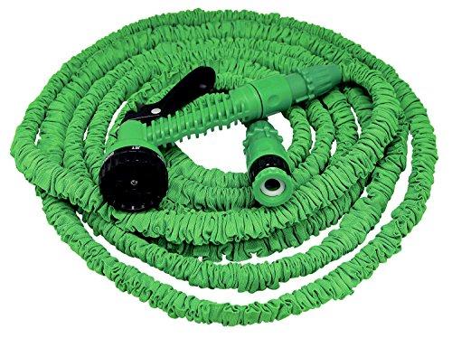 Xpansy Hose C2615A Basic - Manguera Extensible con la Presión del Agua, Verde, 15 metros