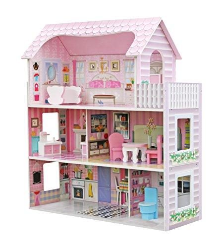 Star Ibaby - Casa de Muñecas con Familia y mobiliario Modelo Duplex.