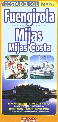 Mapa Fuengirola, Mijas, Mijas Costa