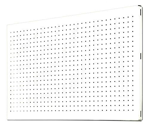 Simonrack 20231204008 Panel metálico perforado (1200 x 400 mm) color blanco