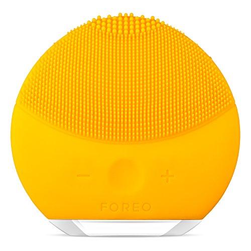 Foreo Luna mini 2 Cepillo Facial Sónico de Silicona, Amarillo (Sunflower Yellow)