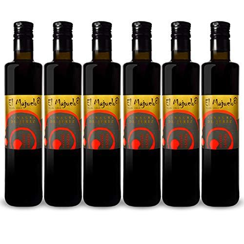 Vinagre de Jerez Tradicional de 500 ml - D.O. Vinagre de Jerez - El Majuelo (Pack de 6 botellas)