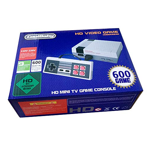 Versiones Originales Juegos Retro Family Mini Consola Construido en 600 Seccion Clásicas HDMI Videojuegos