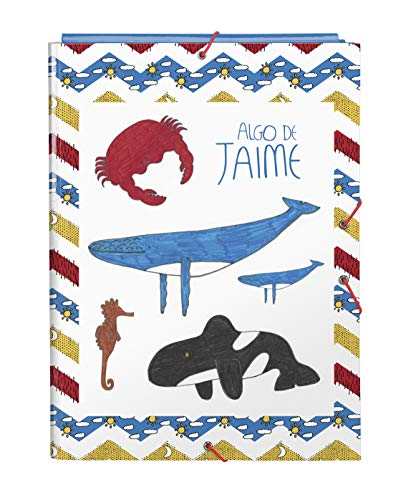 Safta 512005068 - Carpeta Folio con 3 Solapas de Algo de Jaime, 260x365mm