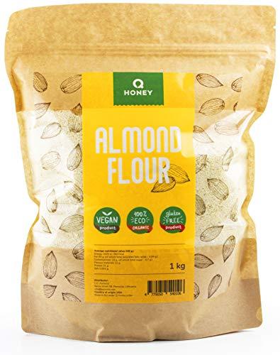 Harina de almendra 1kg   Sin gluten 100%   Extrafina Natural Blanqueada apta para dietas Keto, Paleo, Low carb