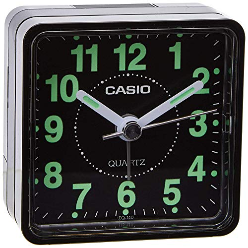 Casio Collection Despetador TQ140, Negro, 1-Pack