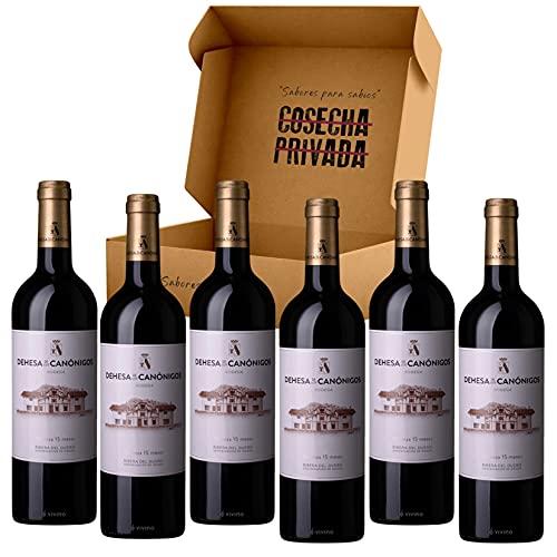 Dehesa de los Canónigos - Envío 24 H - 6 Botellas - Vino Tinto - Ribera del Duero - Enviado y seleccionado por Cosecha Privada