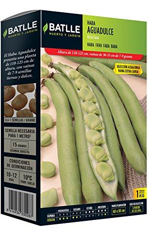 Semillas Leguminosas - Haba Aguadulce 1Kg - Batlle
