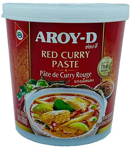 Pasta de Curry Rojo Aroy-D