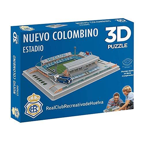 Eleven Force Puzzle Estadio 3D Nuevo Colombino (Recre), Multicolor, Talla Única (10179)