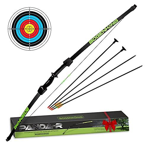 Bogenkönig arco y flechas para niños y flecha para niños,, tiro al blanco, 6,8 kg arcos y flechas flechas para arco