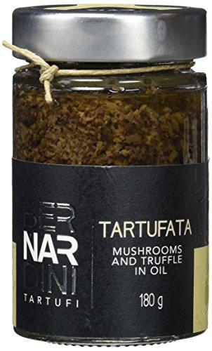 """""""Tartufata"""", Salsa de trufa negra de verano (Tuber aestivum Vitt.) y setas 180gr, Producto típico italiano - Bernardini Tartufi"""