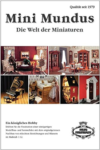 MiniMundus Catálogo 2019 para casa de muñecas