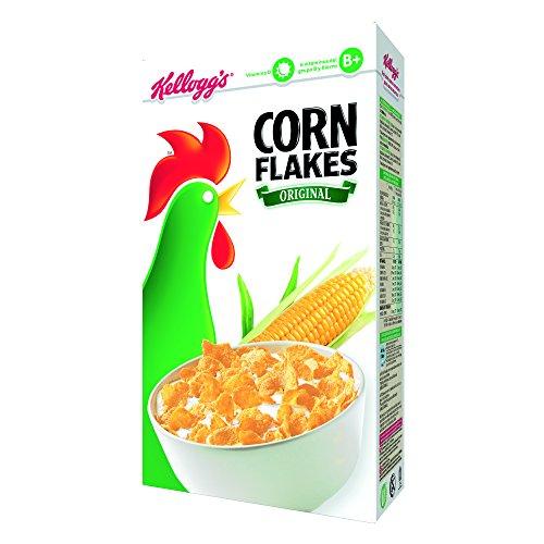 Kellogg's Corn Flakes - Cereales de maíz tostados - Paquete 500 g