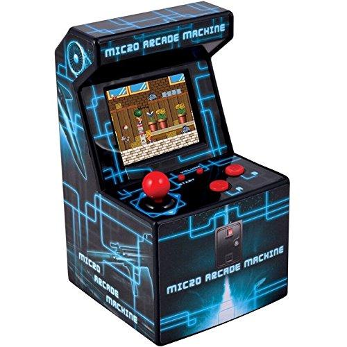 ITAL - Consola Mini Arcade recreativa portátil con 250 Juegos Perfecta para Regalo de niños y Adultos con diseño Retro