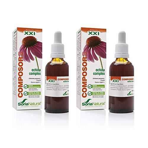Soria Natural - COMPOSOR 8 - ECHINA COMPLEX S. XXI - Echinacea Pack de 2