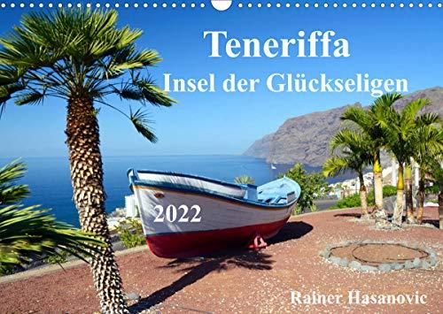 Teneriffa - Insel der Glückseligen (Wandkalender 2022 DIN A3 quer)