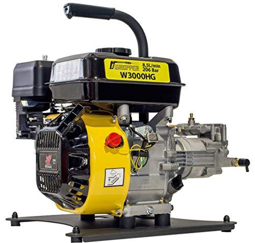 WASPPER  Hidrolimpiadora de Motor de Gasolina 3000 PSI  196cc con Potencia de Alta presión Jet Hidrolimpiadora Profesional W3000HG portátil Limpiadora para Autos y Patios