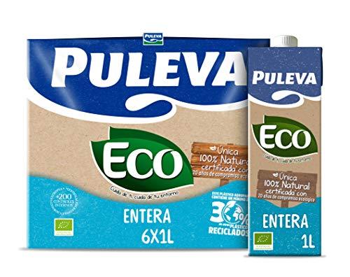 Puleva Leche Ecológica, 6 x 1L