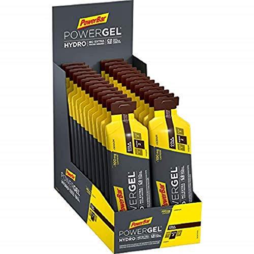 PowerBar PowerGel Hydro Cola 24x67ml - Gel Energético de Alto Carbono + C2MAX + Sodio + 100mg Cafeína
