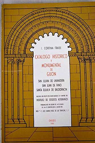 Catalogo historico y monumental de Gijón.