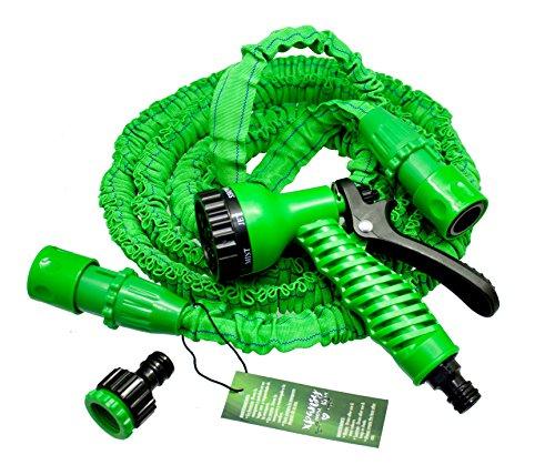 Xpansy C2607A Hose Basic - Manguera Extensible con la Presión del Agua, Verde, 7,5 metros