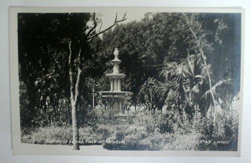 Antigua postal fotográfica. Antique photographic post card. Nº 49 - TENERIFE - La Laguna, Plaza del Adelantado